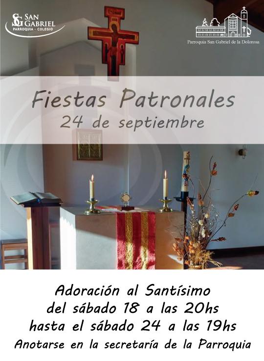 Fiestas Patronales 2016