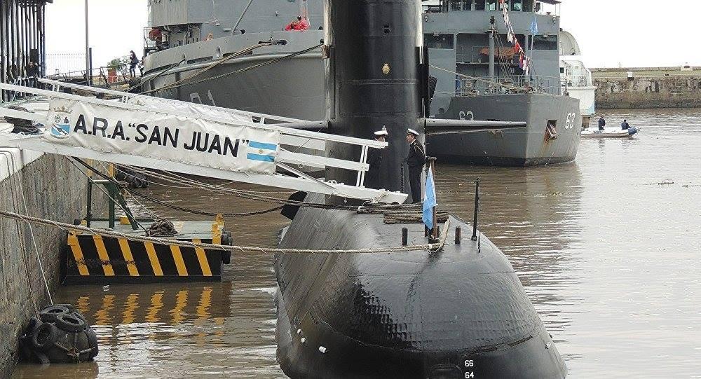 Oración por los marinos del ARA San Juan