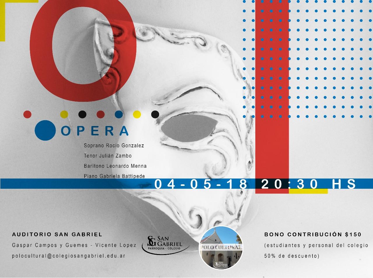 Ópera en el Auditorio San Gabriel
